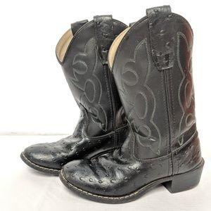 Old West kids Western cowboy boots sz 13
